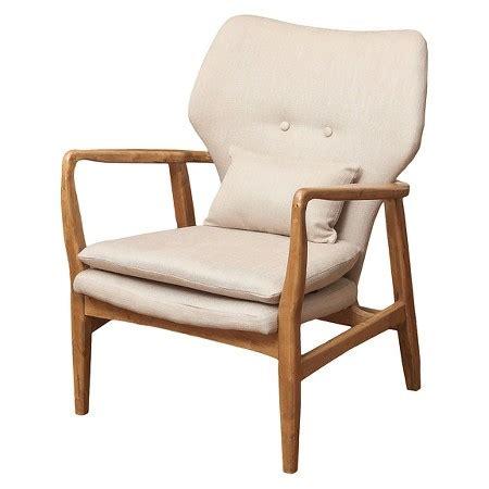 haddie wood frame club chair beige christopher
