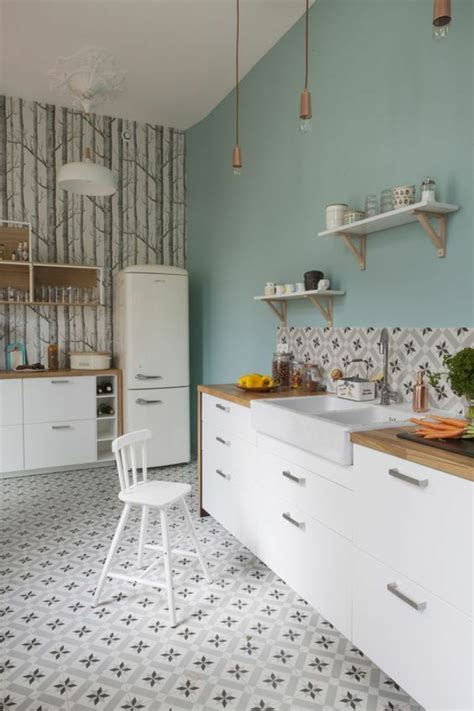 mur cuisine 1001 idées pour décider quelle couleur pour les murs d 39 une cuisine adopter les intérieurs en