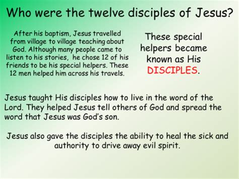 who were the twelve disciples of jesus by elasticbandy