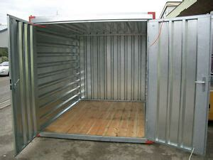blechcontainer 2 25 x 2 m lagercontainer seecontainer ebay