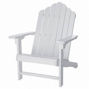 Fauteuil De Jardin Maison Du Monde : fauteuil de jardin blanc portland maisons du monde ~ Premium-room.com Idées de Décoration