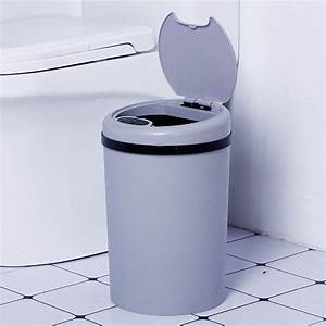 Kitchen, Trash, Can, For, Bathroom, Bedroom, Home, Office, Automatic, Touch, Free, Garbage, Can, With, Lid