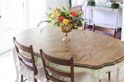 refinish  dining table shades  blue interiors