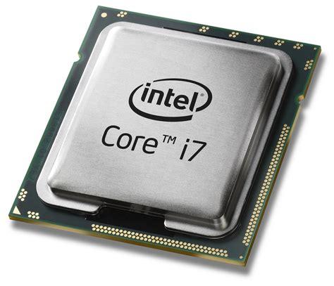 pc bureau intel i7 different types of computer processors