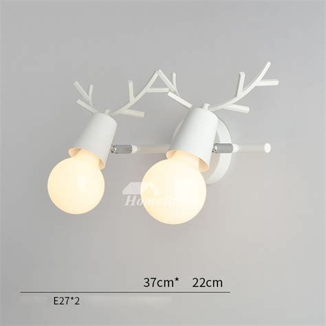 2 light wall sconce contemporary metal cheap decorative lighting