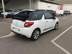 Ds3 Citroen Occasion : citroen ds3 cabrio cabriolet 1 6 vti so chic 7cv vente voiture villeurbanne richard drevet ~ Gottalentnigeria.com Avis de Voitures