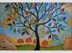 Folk Art Wallpaper WallpaperSafari