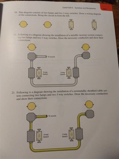 Homework Wiring Diagram by Solved Chapter 5 Switches And Receptacles 19 This Diagra
