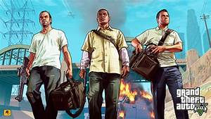 Grand Theft Auto 5 Trailer (GTA V) - ALL 3 CHARACTERS ...