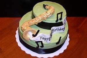 26 best images about saxophone cakes on Pinterest ...