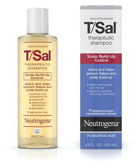 tsal therapeutic shampoo scalp build  control neutrogena