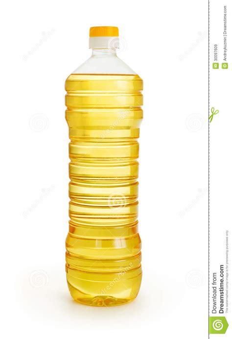 huile de l 233 gume ou de tournesol dans la bouteille en plastique image stock image 30097609