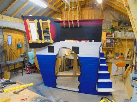 chambre bateau pirate mobilier original pour chambre d 39 enfant cabanologue