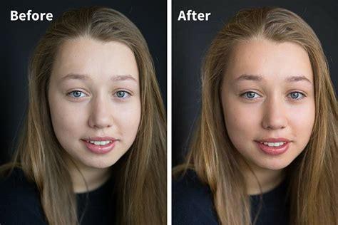 steps  basic portrait editing  lightroom