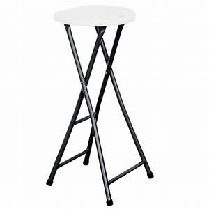 Chaise De Bar Pliable : tabouret haut pliant pas cher mobeventpro ~ Nature-et-papiers.com Idées de Décoration