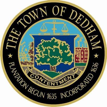 Dedham Massachusetts Seal Town Ma History Kingsbury