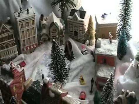 christmas village youtube
