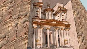 Petra In Jordan  The Treasury