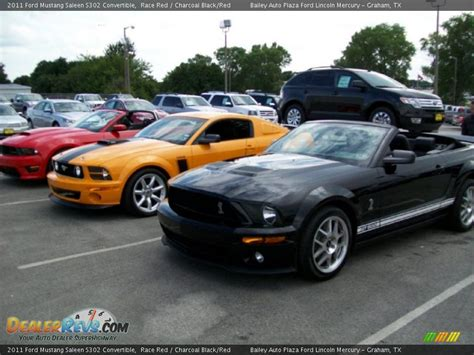 2011 Ford Mustang Saleen S302 Convertible Race Red