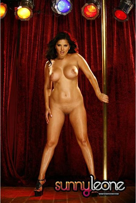 Sunny Leone and a Stripper Pole - Sexy Gallery Full Photo #65486 - SexyAndFunny.com
