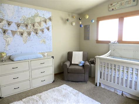 Our Travel And Adventure Themed Nursery  Glitter And Dust