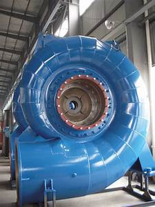 Large Francis Reaction Hydro Power Turbine For Head