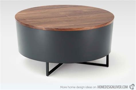 drum style coffee table coffee tables ideas round drum coffee table design ideas