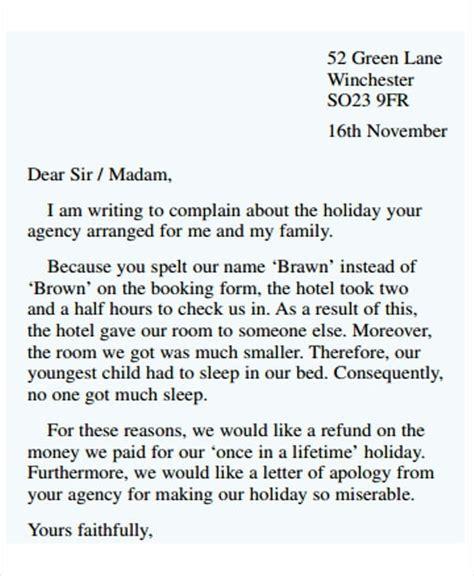 formal letter  letters  sample letters