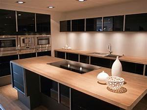 Wood kitchen countertops hgtv for Wood kitchen countertops