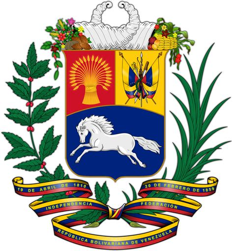 Coat of arms of Venezuela Wikipedia