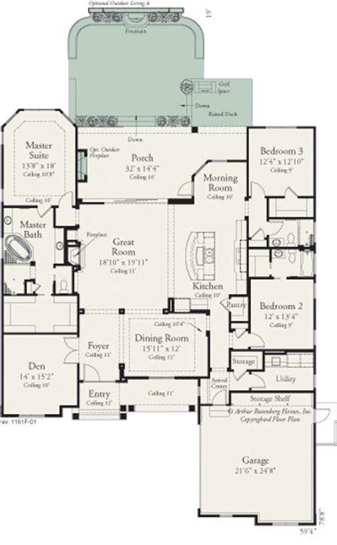 Arthur Rutenberg Amelia Floor Plan by 1151 Traditional Floor Plan Ta By