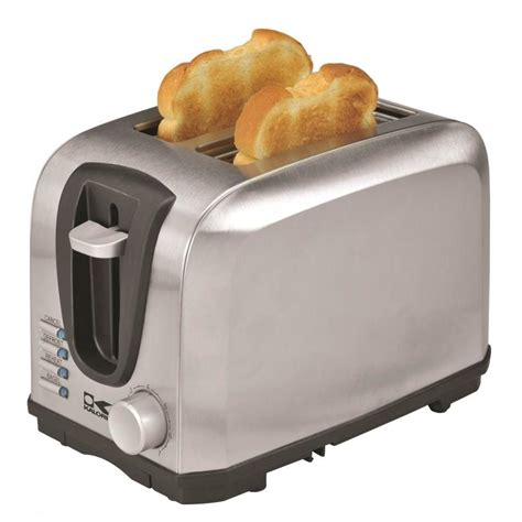 toaster stainless kalorik 2 slice stainless steel toaster at lowes