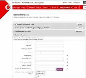 Vodafone Rechnung Zu Hoch : vodafone k ndigen handy vertrag online beenden giga ~ Themetempest.com Abrechnung