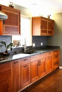 Custom, Mahogany, Kitchen
