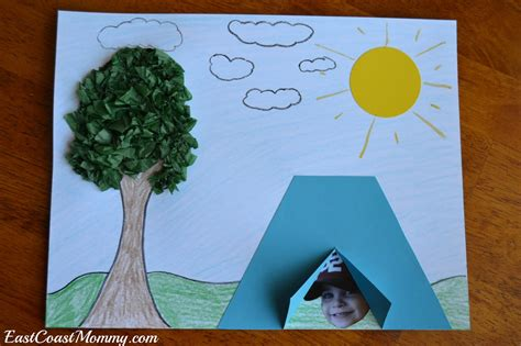 camping projects for preschoolers east coast camping crafts and activities 244