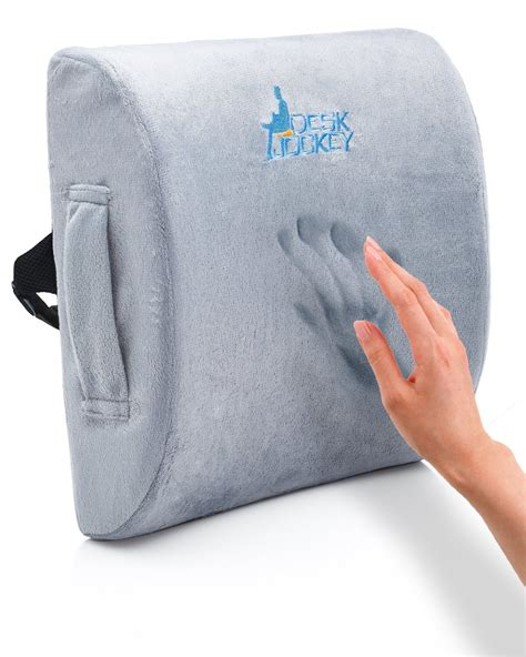 back support pillow for best lumbar support back cushions to fix your back