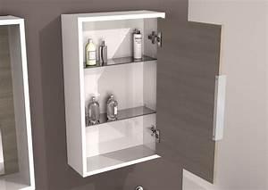 impressionnant meuble haut salle de bain avec miroir 5 With meuble haut salle de bain avec miroir
