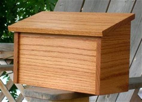 oak mailbox plans  woodworking project plans