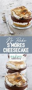 No Bake S'mores Cheesecake | My Baking Addiction