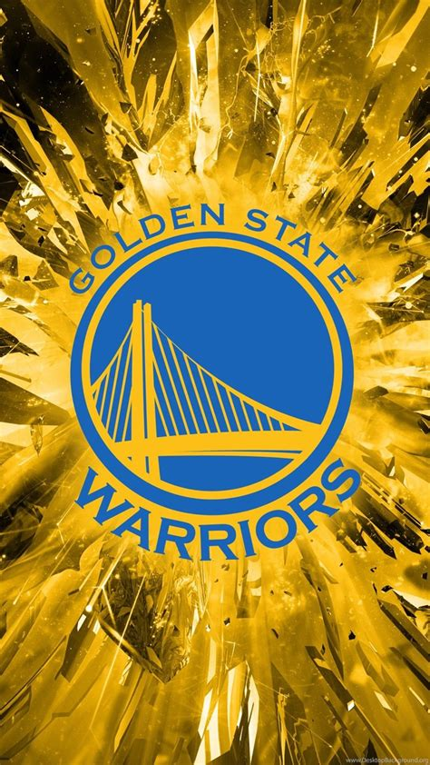 golden state warriors logo  wallpaper desktop background
