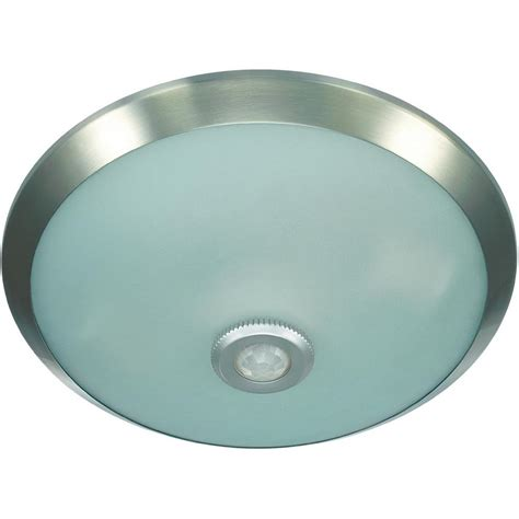 motion sensor ceiling light indoor e27 chrome ceiling light with motion sensor from conrad