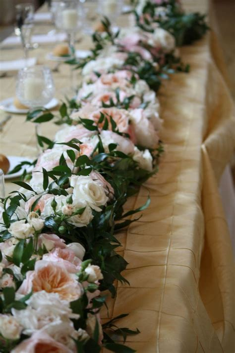 17 Best Ideas About Table Garland On Pinterest Wedding