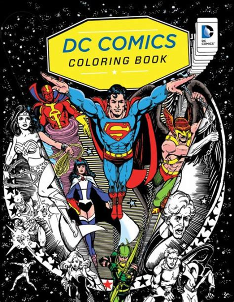 Dc Comics Coloring Book By Insight Editions, Coloring Book
