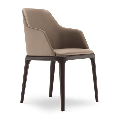 chaise avec accoudoir but grace poliform chair