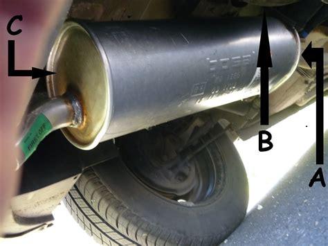 peugeot 206 remplacement tuyau d 233 chappement reportage photo et description des r 233 parations