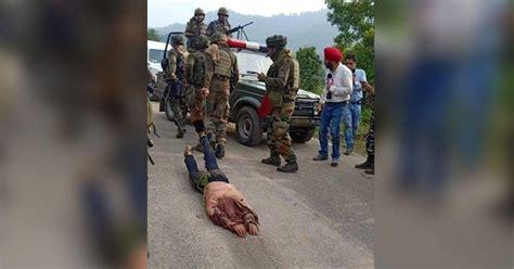 mangled charred bodies  kashmiri militants  cruel