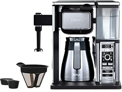 How much does the shipping cost for ninja coffee bar wont brew full pot? Amazon.com: Ninja Coffee Bar Auto-iQ Programmable Coffee Maker with 6 Brew Sizes, 5 Brew Options ...