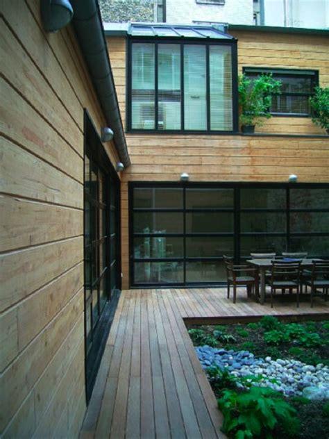 maison loft bois joubard house details terrasses all 233 es de jardin et