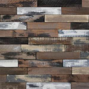 nuvelle take home sample deco planks weathered brown With deco wall planks