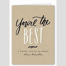 The Best Thank You Quotes And Sayings For 2019 Shutterfly